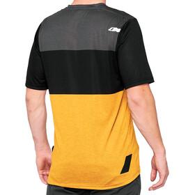 100% Airmatic Enduro/Trail Jersey Men black/mustard
